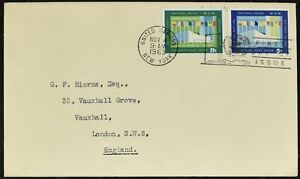 United Nations 1963 Assemblée Générale Bâtiments Fdc First Day Cover #c52333-afficher Le Titre D'origine