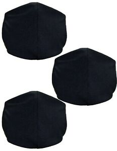Face-Mask-Washable-Reusable-Reversible-Adult-Unisex-3-Pack-Made-in-USA