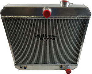 Griffin Radiator 1955-1957 Chevrolet v8 radiator with transcooler