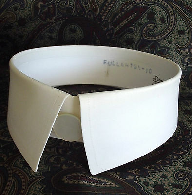 Vintage day collar for shirt  size 15 Austin Reed SUMMIT Starched stiff 1960s