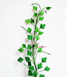 Green-A-bunch-of-Boston-ivy-Clay-Plant-1-12-Scale-Dollhouse-Miniature-OP94