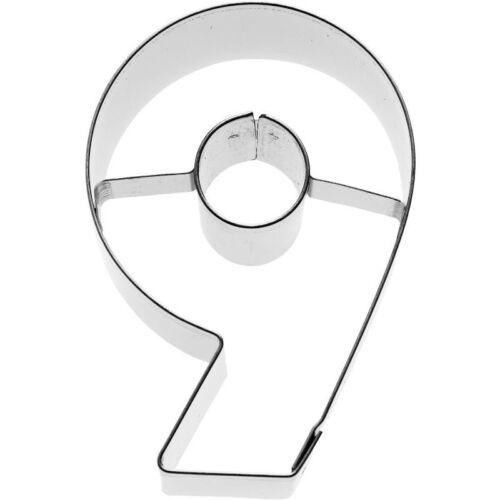 BIRKMANN Emporte-pièce nombre 9 emporte-pièce keksausstecher plätzchenausstecher forme