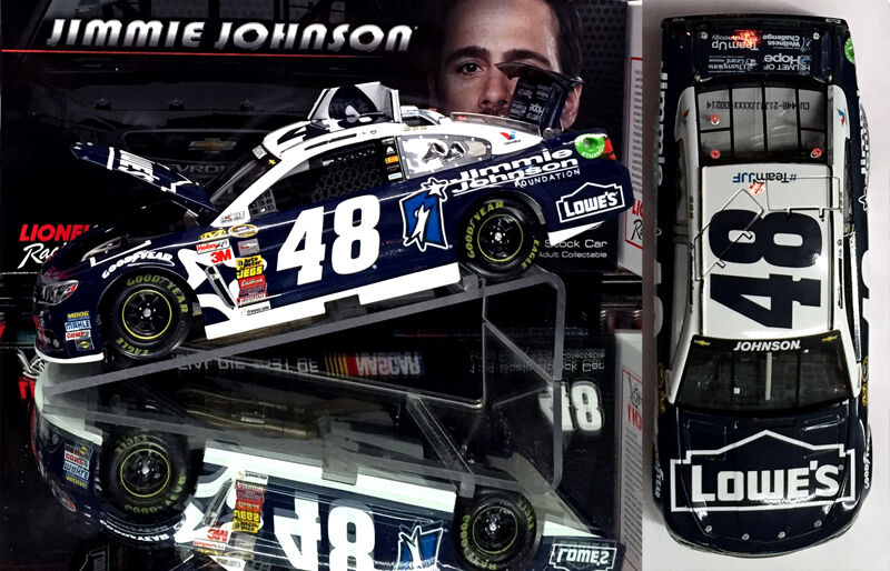 JIMMIE JOHNSON 2014 FOUNDATION 1 24 SCALE  ACTION NASCAR DIECAST