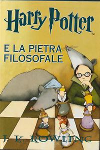 LIBRO-Harry-Potter-e-la-Pietra-Filosofale-2007-COPERTINA-RIGIDA-SALANI-RARO