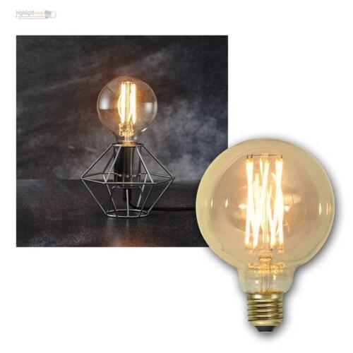 E27 Glühlampe Filament LED Nostalgie Birne Retro Vintage Spiral Glühbirne Lampe