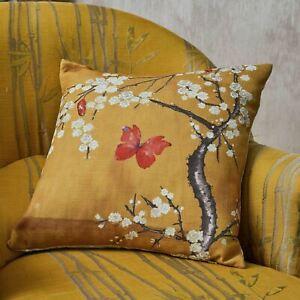 The-Chateau-Fleur-Coussin-Ochre-Oriental-Ange-Strawbridge-Design