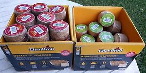 Char-Broil-Simple-Smoke-All-Natural-2-Cherry-and-2-Apple-smoker-pucks-discs