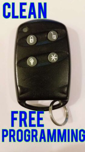 CLEAN ELM BURGLARY HOME SECURITY ALARM KEYLESS ENTRY REMOTE FOB B4Z-760A-EFOB