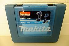 MAKITA dk1862x 4 PEZZI KIT CORDLESS BHP452 HAMMER DRILL BTD146 Impact Driver