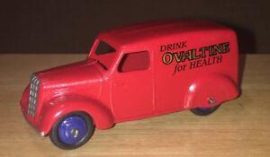 Dinky-28-Series-Van-039-Ovaltine-039-Restored-Model-DT073