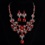 Women-Chunky-Fashion-Crystal-Bib-Collar-Choker-Chain-Pendant-Statement-Necklace thumbnail 84