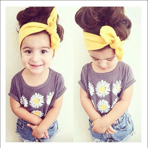 Mum Baby Mother Women Girl Parent Child Bow Headband Hairband Accessories CH