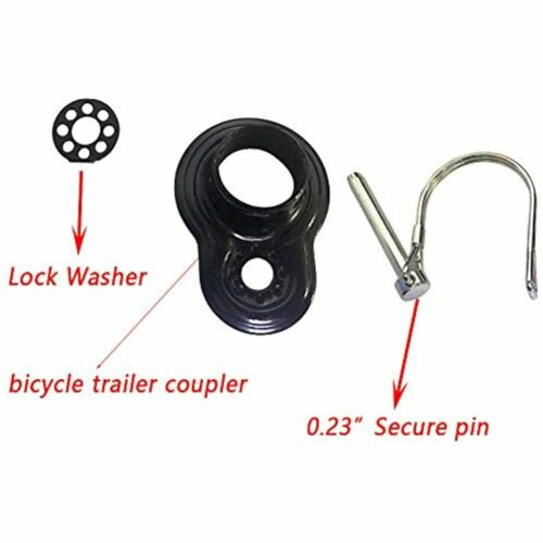 Bike Trailer Coupler Hitch Attachment For Instep /& Schwinn Bike FREE SHIPPING