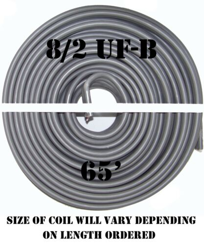 8//2 UF-B x 65/' Southwire Underground Feeder Cable