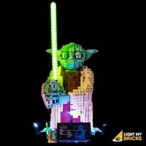 LIGHT-MY-BRICKS-LED-Light-kit-for-LEGO-Star-Wars-Yoda-75255
