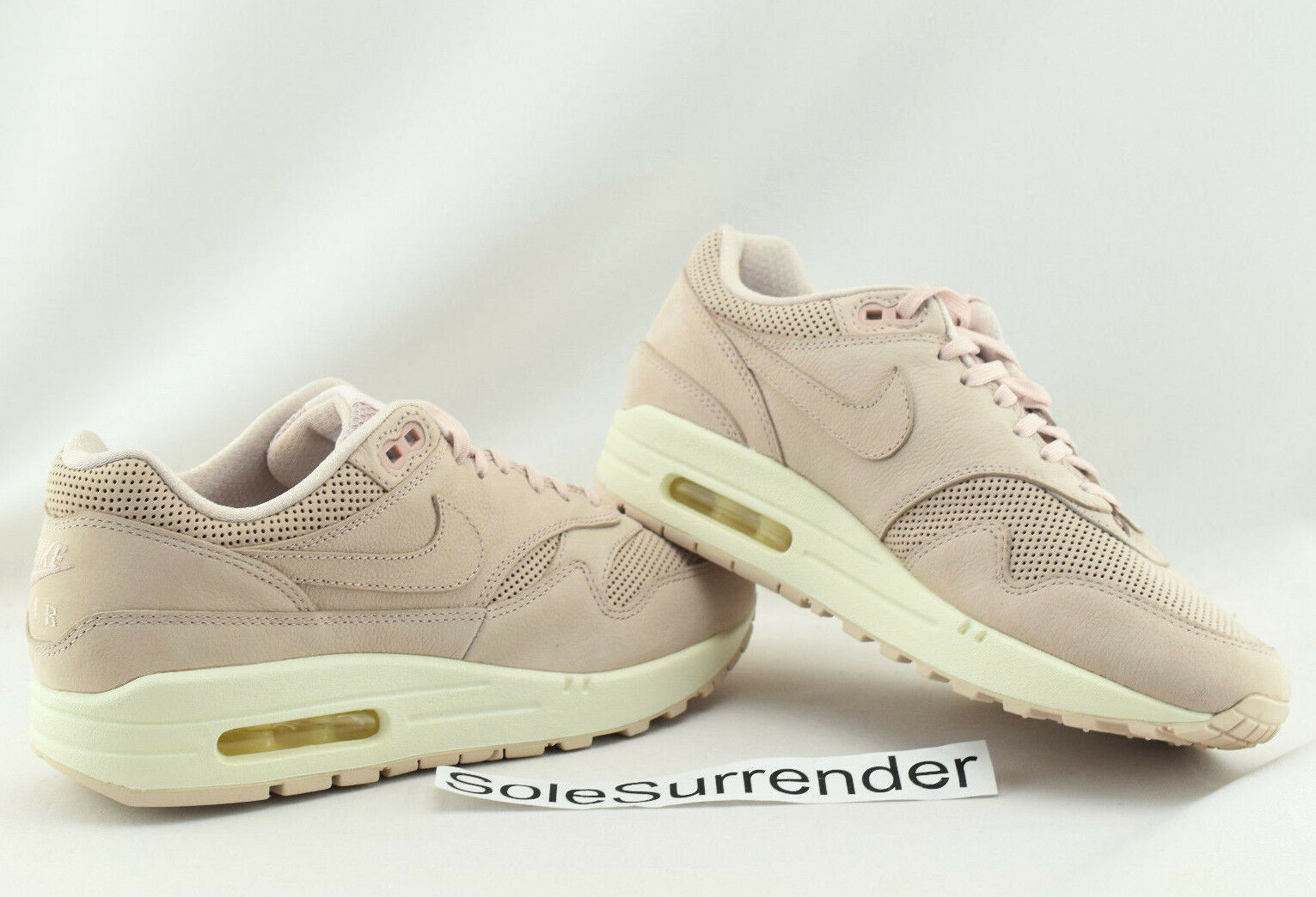 Women's Nike Air Max 1 Pinnacle - SIZE 8 - NEW - 839608-601 Silt Red Pink White