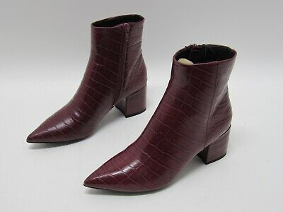 New Look Pointed Block Heeled Boots In
