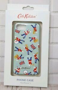 Cath-Kidston-Mini-Marching-Band-iPHONE-7-Phone-Case-Soft-Aqua-Colour-New-In-Box