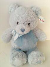 "BABY GUND BEAR #4043950 BABY PASTEL BLUE 10/""  MY FIRST TEDDY"