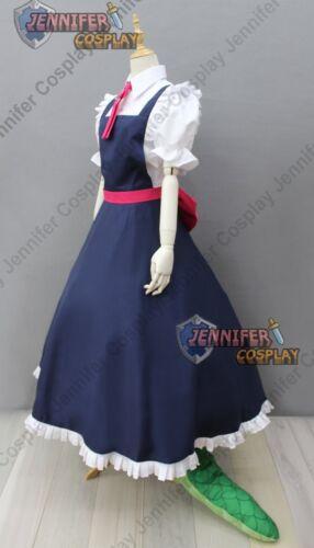 Miss Kobayashi/'s Dragon Maid Tohru Cosplay Costume With Tail J
