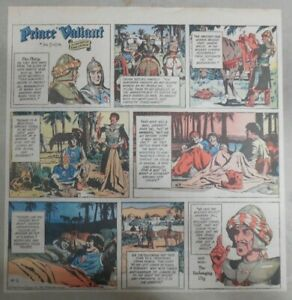 Prince-Valiant-Sunday-by-Hal-Foster-from-8-1-1971-2-3-Full-Page-Size