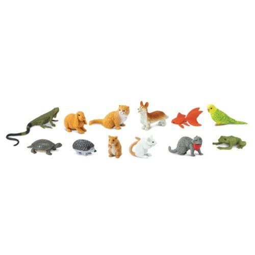 Pets Toob Mini Figures Safari Ltd NEW Toys Educational Figurines Animal Toys