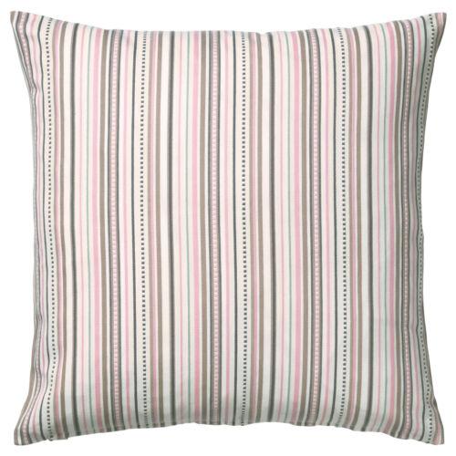 Ikea Elvilda Multicolour Stripes Cushion Cover with Inner Cushion  50 x 50 CM.