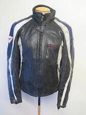 "Vintage Dainese Leather Jacket CAFE RACER Motorcycle Biker Jacket M 40"" Euro 50"