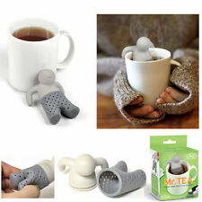 MR TEA INFUSORE DI TE E TISANE THE SILICONE INFUSI TISANE IDEA REGALO MODA 2016