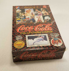 Coca-Cola-Collector-Cards-Unopened-Sealed-Box-Collect-A-Card-1994-Series-2
