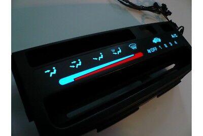 Honda Civic 1992-1995 Heater control panel illumination BLUE WHITE INDIGLO