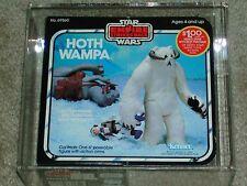 Vintage Star Wars KENNER 1980 AFA 75 HOTH WAMPA MONSTER ESB MISB SEALED BOX!