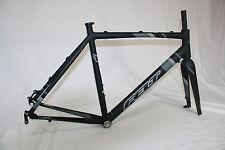 Felt FX A Disc Rahmen Kit, Cyclocross Frameset, Querfeldein, mattschwarz , 57cm