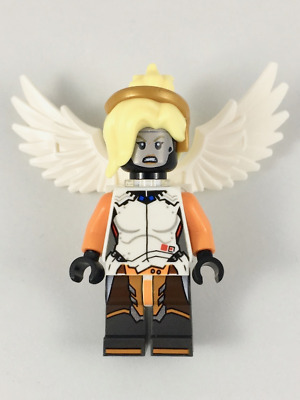 Mercy Hero Overwatch Minifigure Fits Lego US SELLER