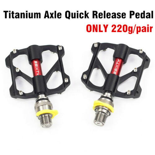 Titanium Axle 220g Quick Release Pedal Folding Bike Pedal for Brompton 3SIXTY