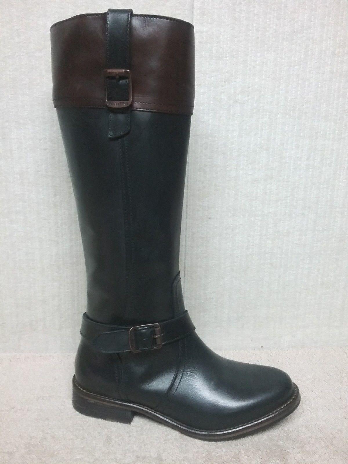 Wolverine-W40091-Shannon-Mujer Cuero botas botas botas De Montar-negro-tamaño 5.5  auténtico