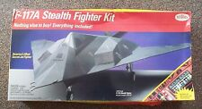 F117A  STEALTH bomber FIGHTER KIT testors PLANE aircraft jet OPEN NEW 4075 gift