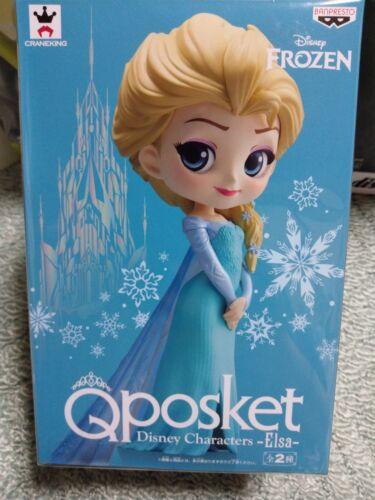 Banpresto Q posket Disney Characters Elsa normal colorana and The Snow Queen