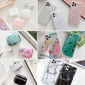 Case For iPhone 12 11 Pro XR XS Max 8 7 Plus AirPods Square Case Shockproof TPU