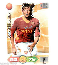 CARD CALCIATORI XL ADRENALYN 2011-12 PANINI=GABRIEL HEINZE (ROMA)=N°79