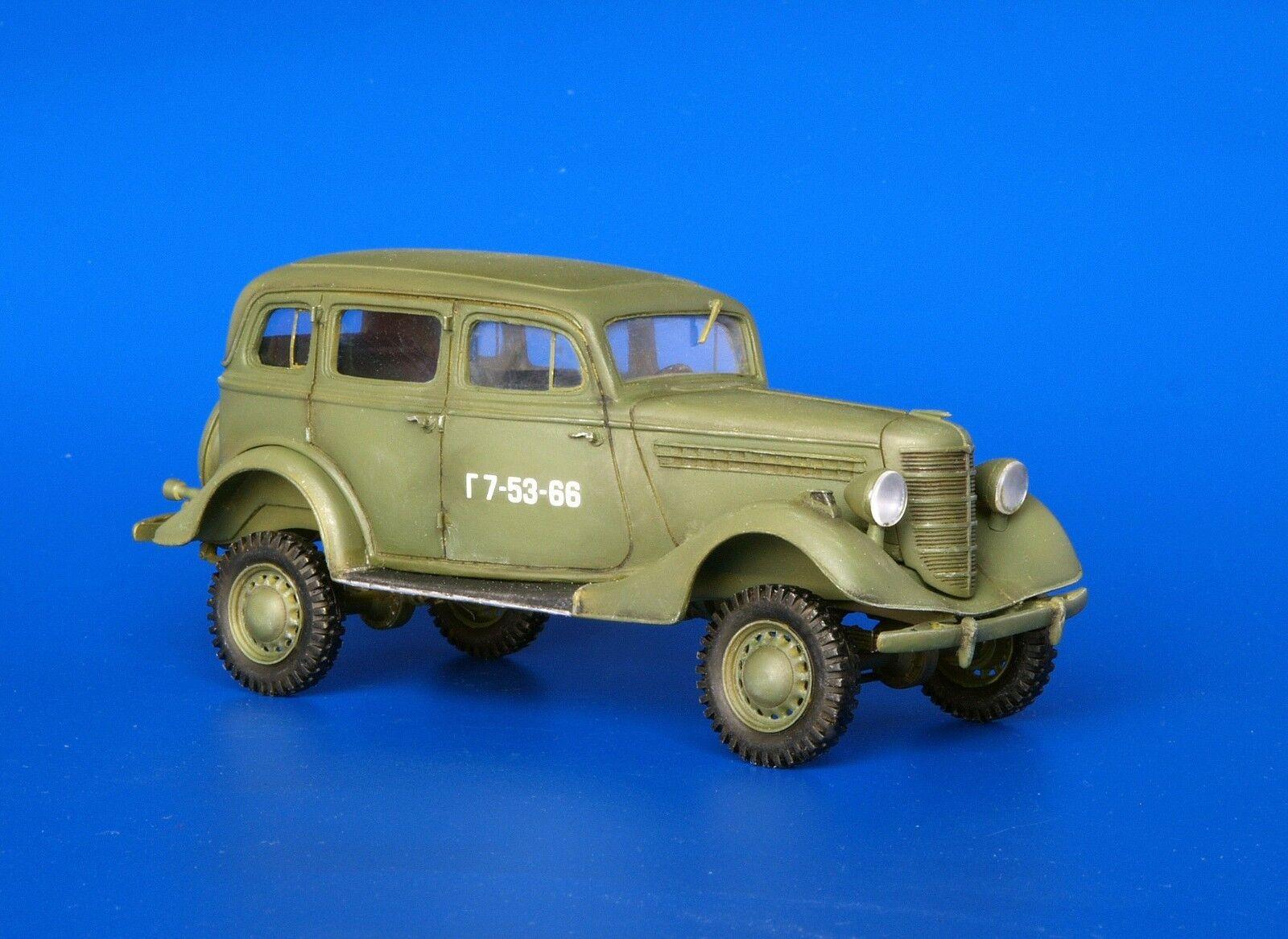 Plus Model 239 GAZ 61-73 4x4 Car 1 35 scale resin model kit