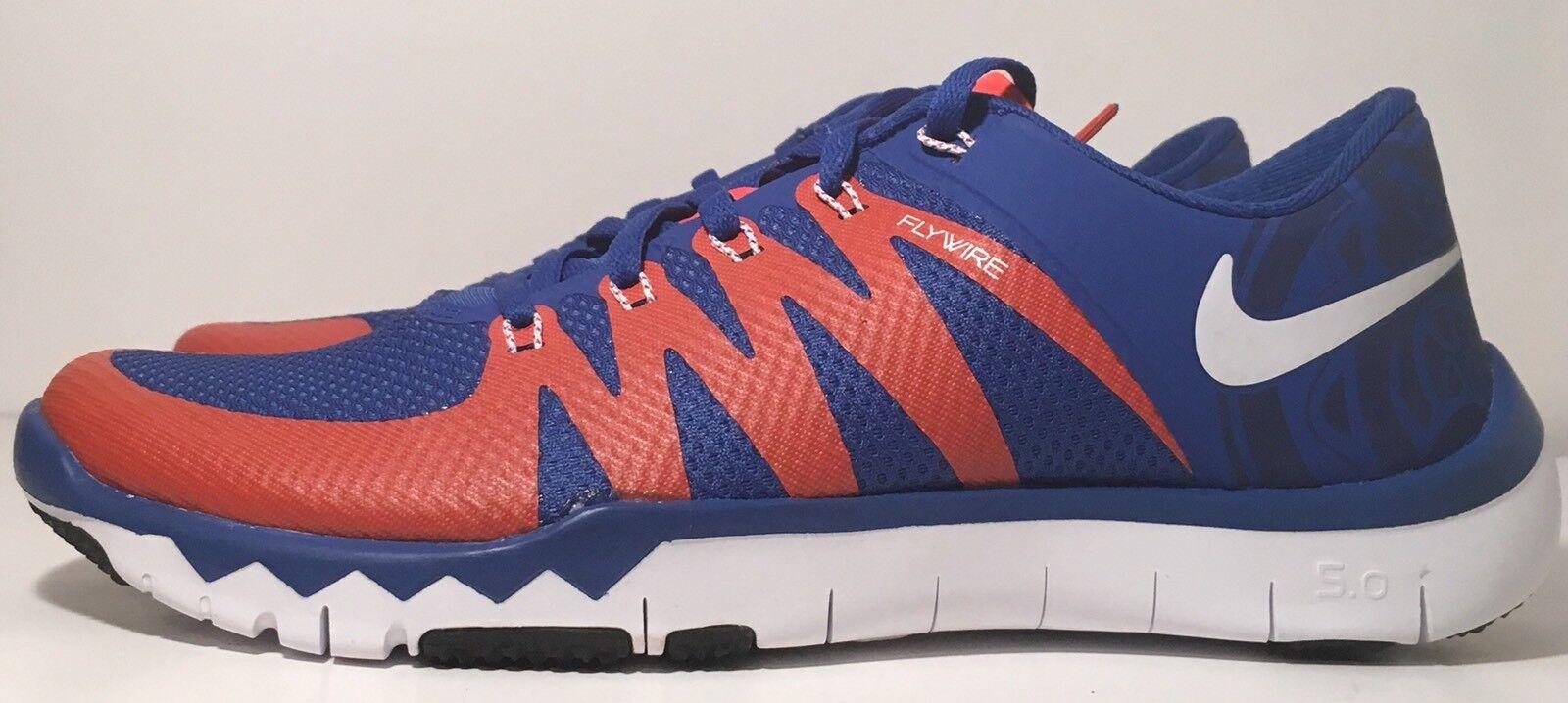SZ.8.5 Nike Free Trainer 5.0 V6 AMP 723939-481 Florida Gators RoyalBlue/Orange
