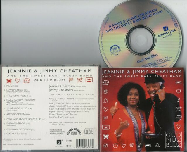 JEANNIE & JIMMY CHEATHAM - GUD NUZ BLUZ CD