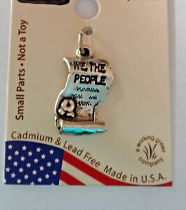 Sterling-Silver-United-States-Washington-DC-Constitution-say-We-The-People-Charm