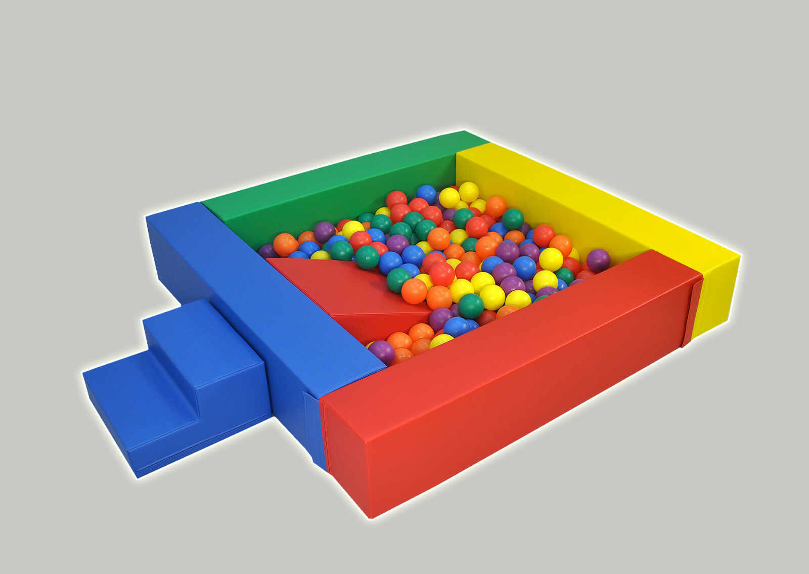 Ball Pool Pit with Step and Slide   Quality Soft Play Equipment   UK