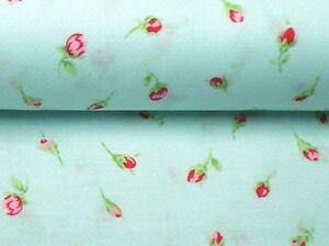 25-034-Remnant-Cottage-Shabby-Chic-Lecien-Antique-Flower-Sky-Tiny-Rosebud-31423-70
