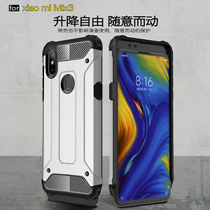Pour-Xiaomi-mi-Melange-3-Double-Superpose-Antichoc-Hybride-Armure-Rigide-PC-TPU