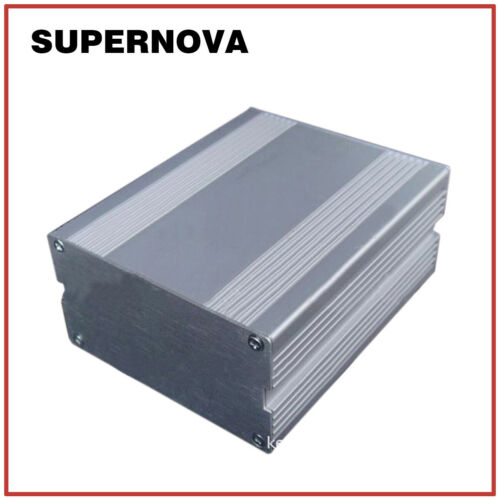110*91*50 Silver Aluminum PCB Instrument Box Enclosure Electronic Project DIY