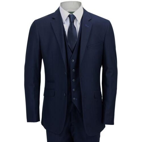 da Pantaloni vestibilità sartoriale blu con uomo intelligente da uomo Tuta panciotto sartoriale giacca Av8Hwq