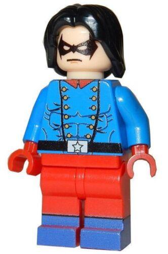 BUCKY BARNES **NEW** LEGO Custom Printed Marvel Captain America Minifigure
